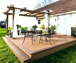 backyard decking designs. Modren Designs Small Outdoor Deck Ideas Low Backyard  Design For Backyard Decking Designs