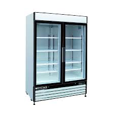Maxx Cold 48-cu ft 2-Door Merchandiser Commercial Refrigerator (White and  Glass