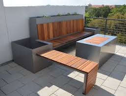 Handmade Outdoor Seating Area And Custom Fire Pit By Sarabi Studio Commercial Outdoor Dining Areas
