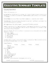 Format For An Executive Summary 7 Executive Summary Report Example Template Project Weekly