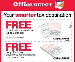 Downloadable Coupons Office Depot Free Printable Coupons For Free Downloadable Tax Forms