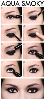 aqua smoky eye makeup tutorial 12 party perfect beauty tutorials that ll make you sparkle gleamitup