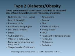 conclusions diabetes and the environment do chemicals play a role in type 2 diabetes development