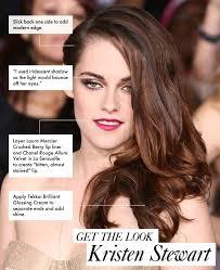 get the look kristen stewart s party perfect hair and makeup
