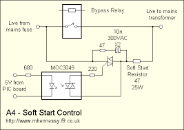 a4 power amplifier › control soft start relay