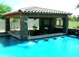 backyard pool bar. Backyard Tiki Bar Ideas Pool Poolside Outdoor .