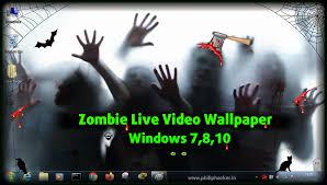 Zombie Live Video Wallpaper - Windows 7 ...