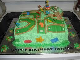 Mini Golf Cake My Cakes Golf Birthday Cakes Golf Party Cake