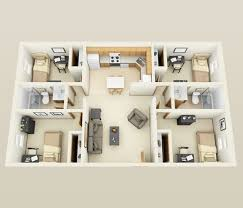 4 bedroom house designs. Bedroom Astonishing Four Inside 4 Apartment House Plans Designs