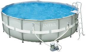Amazon.com : Intex 18-Foot by 52-Inch Ultra Frame Pool Set ...