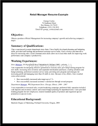 Resume Summary Examples For Sales Associate Unique Retail