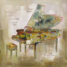 paris piano canvas wall art on grand piano wall art with paris piano canvas new home pinterest pianos canvases and
