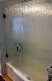 frameless shower door 3 8 thick rain