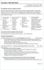Resume Business Analyst Sample Risk Analyst Resumes Sample Career