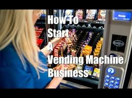 Own Your Own Vending Machine Best How To Start A Vending Machine Business YouTube