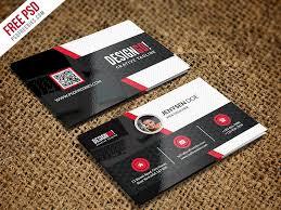 Free Psd Business Card Templates Free Psd Creative And Modern Business Card Template Psd By