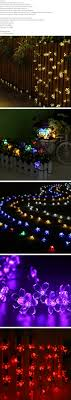 Rgb Outdoor Christmas Lights Changeable Solar String Light Lights Garden Christmas Lights