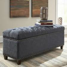 black tufted storage bench. Catchy Black Tufted Storage Bench With Ottoman Reversible Trays N
