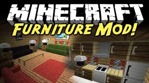 minecraft mod showcase furniture mod  youtube