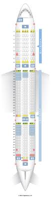 dreamliner premium economy seating plan