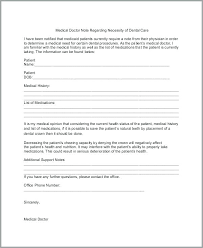 free emergency room doctors note fake dentist note template free