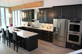 Dark Laminate Flooring In Kitchen Kitchen Brown Color Wooden Floor Special Laminate Flooring Dark