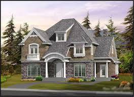 new luxury shingle style house plans