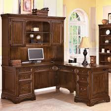 hutch office desk 5. Wonderful Desk Flexsteel Wynwood Collection Woodlands LShaped Desk And Hutch  Item  Number 1207 And Office 5 O
