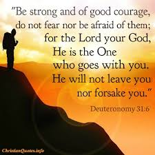 Christian Quotes On Strength And Courage