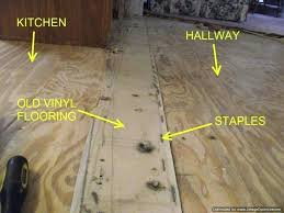 removing laminate flooring when installing laminate flooring in mobile homes removing the old vinyl and staples