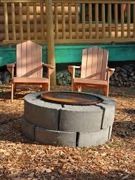 cinder block fire pits design ideas