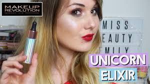 makeup revolution unicorn elixir review missbeautyemily