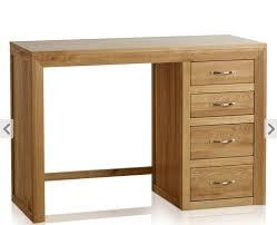 bevel natural solid oak dressing table