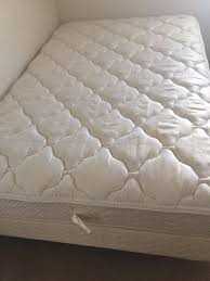 Full size bed (mattress,boxpring and metal frame)$150 firm (used clean