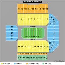 Ou Seating Chart 58 Extraordinary University Of Oklahoma Stadium Seating Chart