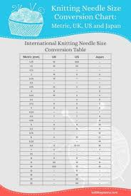 Old Knitting Needle Conversion Chart What Are The Best Knitting Needles For 2019 What Types To Use