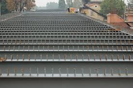 Bolte Gmbh Shear Connectors In Composite Bridge Near Piacenza