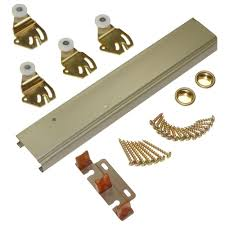 johnson hardware 1166 series 72 in sliding bypass track and hardware set for 2 bypass