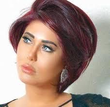 تسريحات شعر قصير على طريقة الفنانة ملاك الكويتية مجلة الجميلة