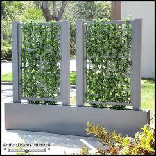 planter trellis to enlarge privacy screen planter trellis set screen