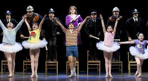 essay review billy elliot a teaching moment chicago theater beat emily skinner cesar corrales and cast