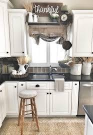 decor kitchen kitchen: farmhouse kitchen decor burlap sack curtain ig bless this nest