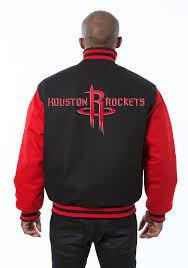 houston rockets mens black all wool jacket heavyweight jacket image 2