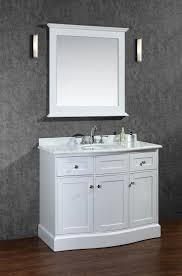 ariel montauk 42 single sink bathroom vanity set with mirror drawing design cues from 2510