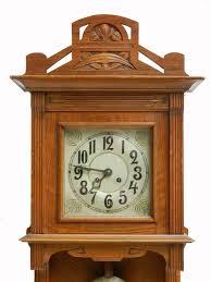 arts crafts wall clock german art nouveau circa 1900 1910