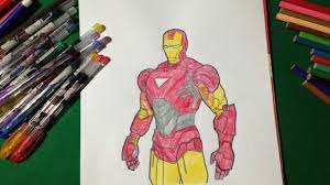 Ironman coloring pages are the best way to teach your child to differentiate between good and evil. Ironman Coloring Fun For Kids Coloring Book For Kids Learning Colour Youtube