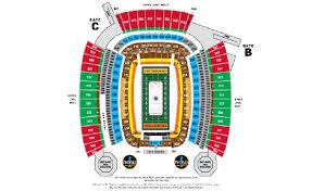 Stadium Series Heinz Field Seating Chart Stadium Series Interactive Seating Chart Turbo Dvd Movie