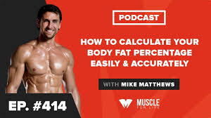 Body Fat Conversion Chart How To Calculate Your Body Fat Percentage Easily Accurately