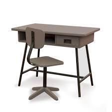 Bureau Enfant Design La Classe Et Chaise D Atelier Taupe