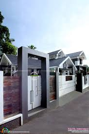 front boundary wall designs houses modern house